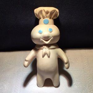 "Vintage 7 "" tall soft rubber Pillsbury Doughboy"